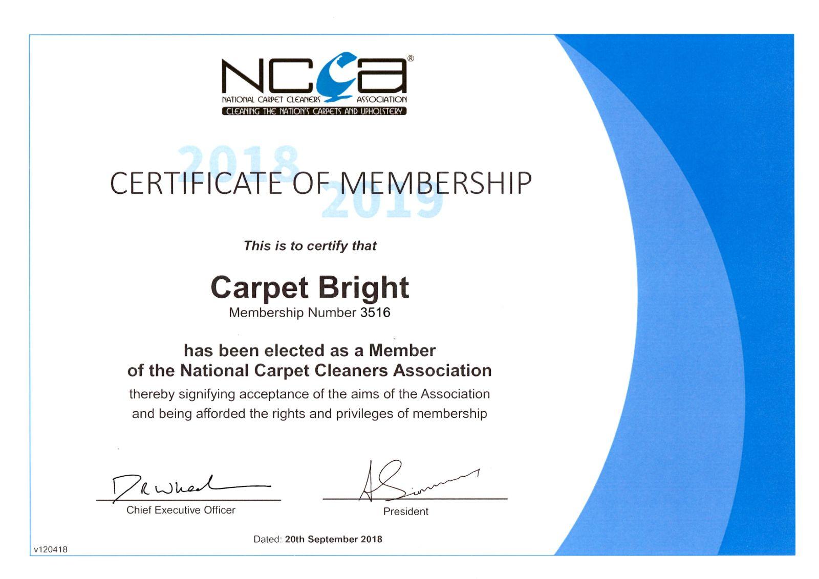 ncca certified